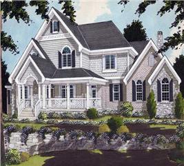 House Plan #169-1007