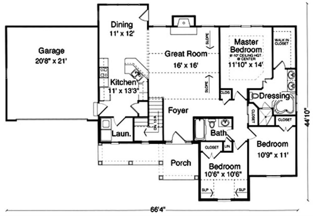 169-1014 house plan main image