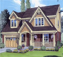 House Plan #169-1015