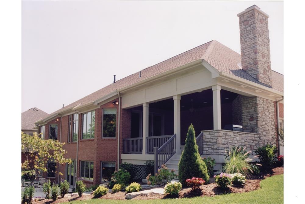 169-1016: Home Exterior Photograph-Rear View