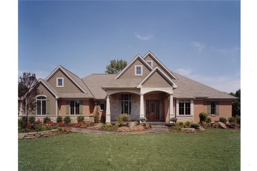 169 1016 · 3 bedroom 3171 sq ft ranch home plan 169 1016 main
