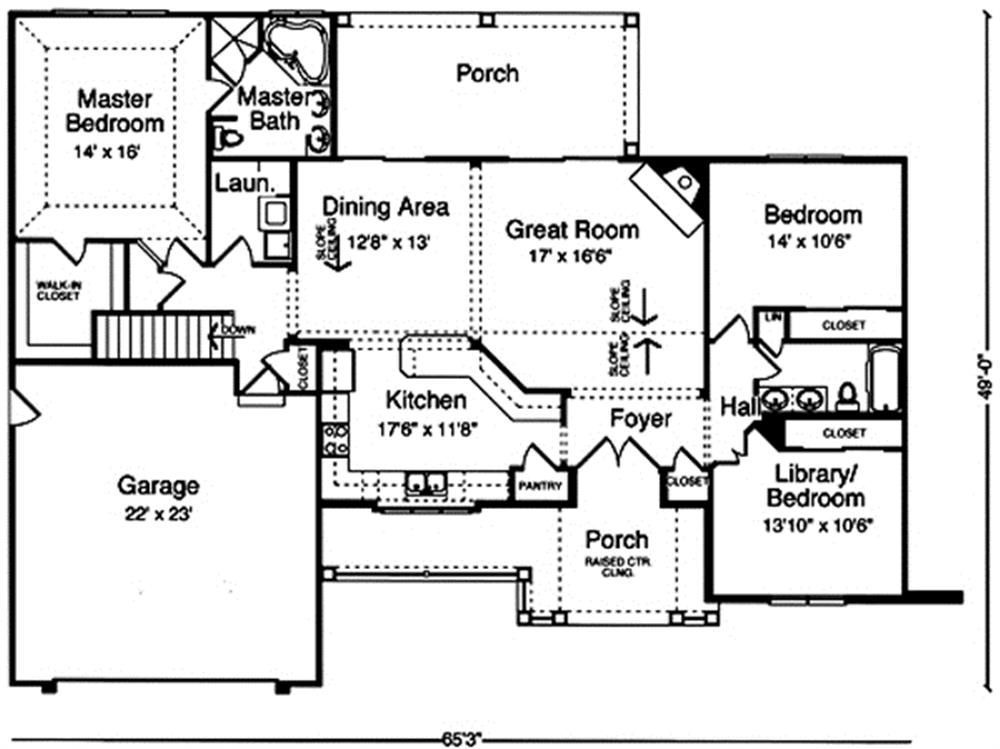 169-1020 house plan main image