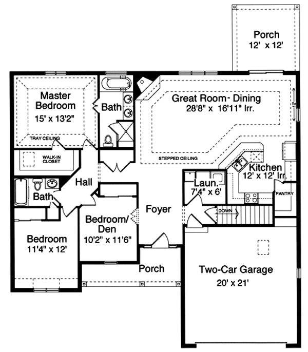169-1021 house plan main image