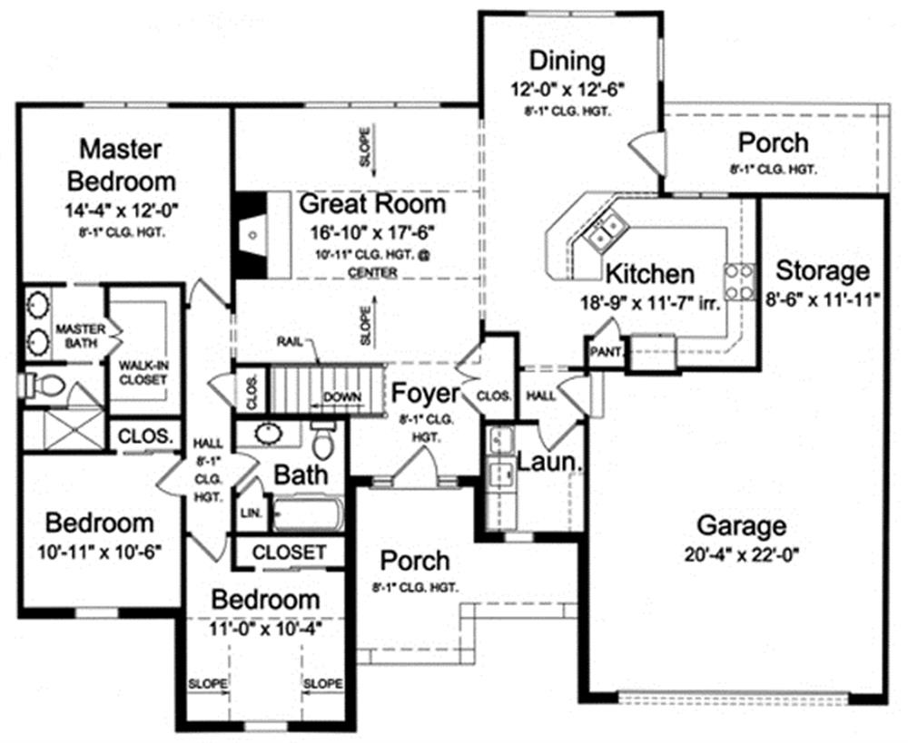 169-1025 house plan main image