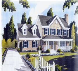 House Plan #169-1039