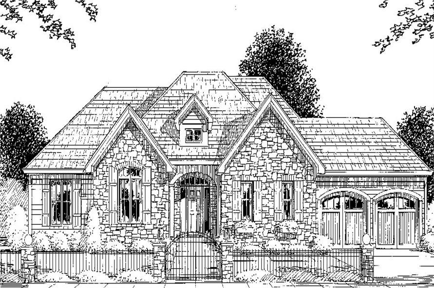 169-1042: Home Plan Rendering