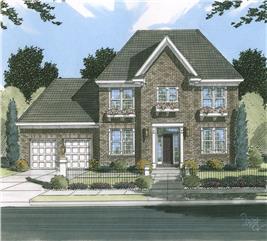 House Plan #169-1044