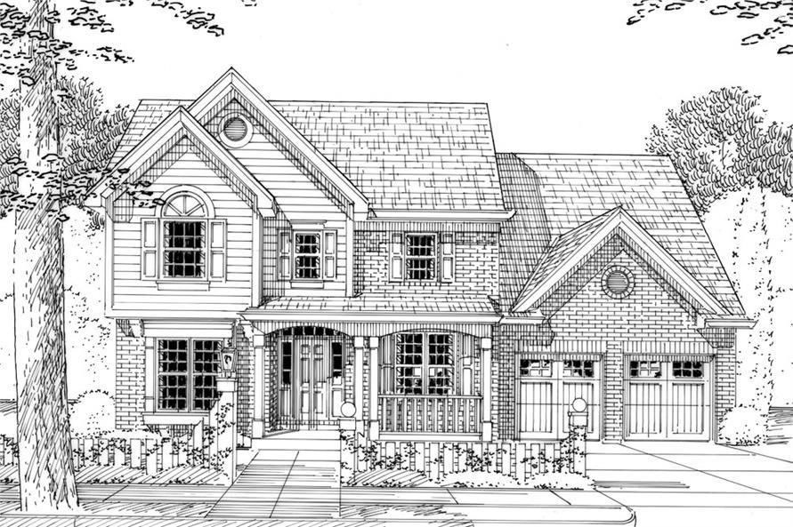 169-1045: Home Plan Rendering