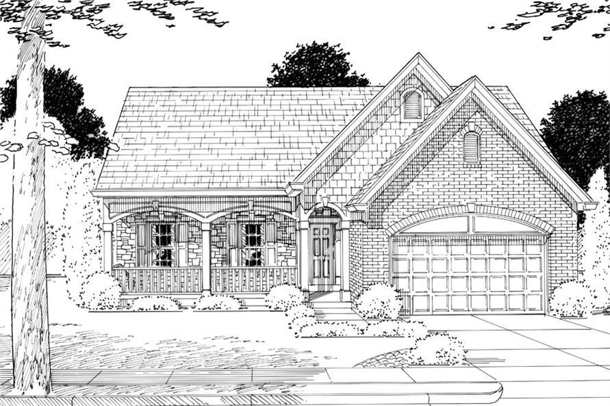 169-1046: Home Plan Rendering