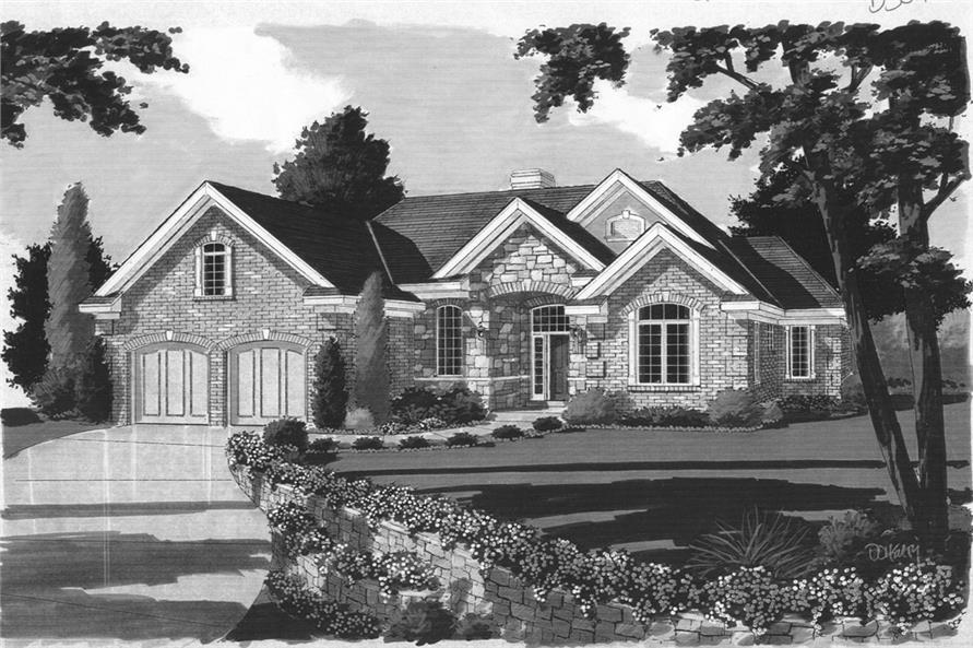 169-1069: Home Plan Rendering