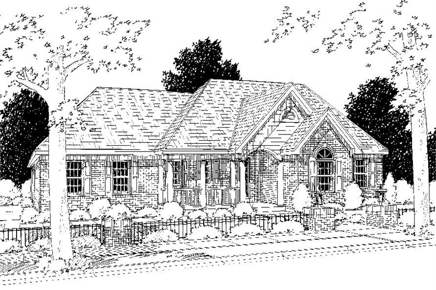 169-1070: Home Plan Rendering