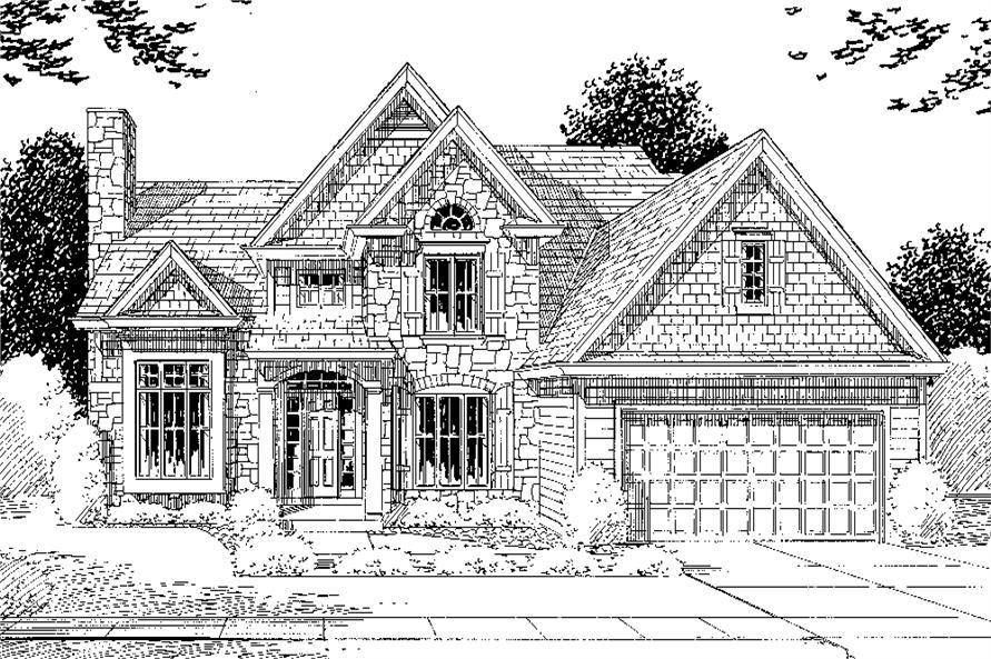 169-1072: Home Plan Rendering
