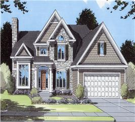 House Plan #169-1072