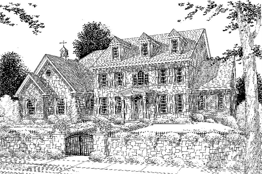 169-1073: Home Plan Rendering