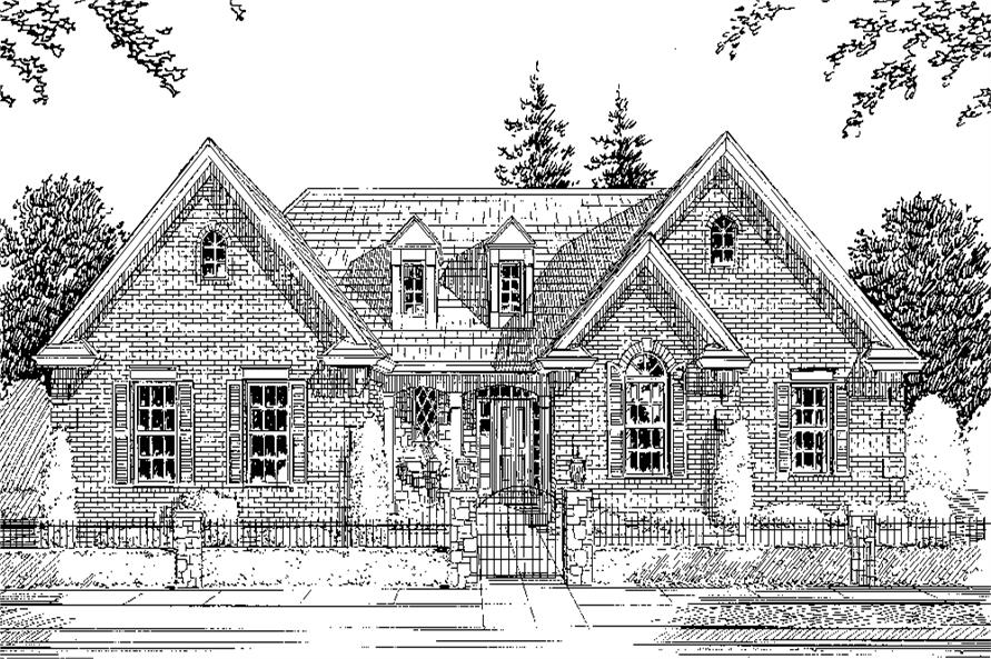 169-1074: Home Plan Rendering