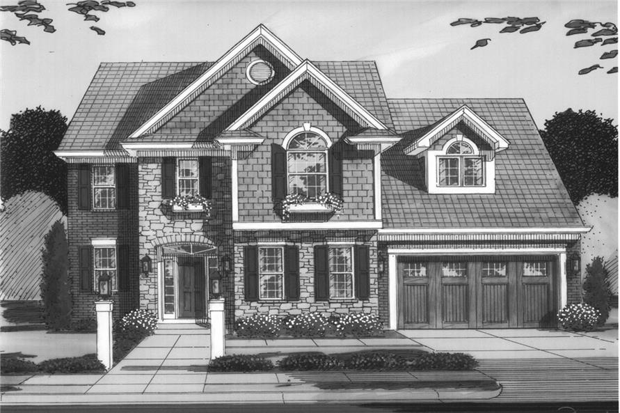169-1081: Home Plan Rendering