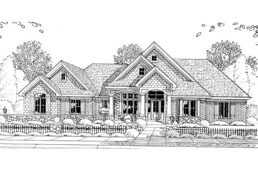 169-1092: Home Plan Rendering