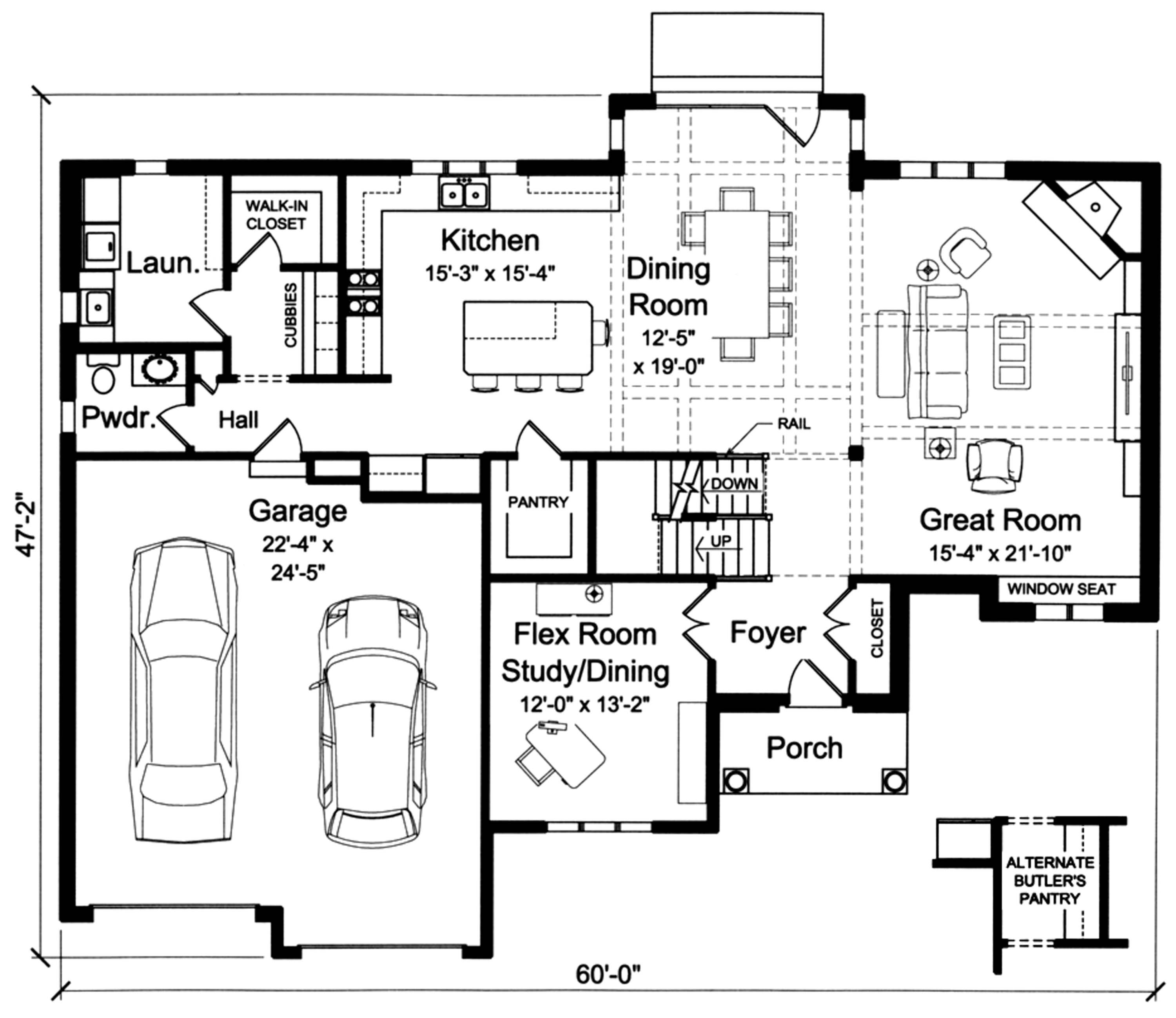 kitchen great room floor plans country house plan 169 1119 4 bedrm 2938 sq ft home 8114