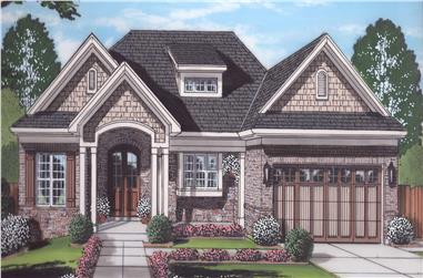 3-Bedroom, 1955 Sq Ft Ranch Home Plan - 169-1176 - Main Exterior