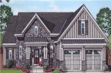 4-Bedroom, 2052 Sq Ft Farmhouse Home - Plan #169-1179 - Main Exterior