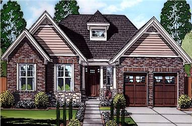 3-Bedroom, 1708 Sq Ft Ranch Home Plan - 169-1183 - Main Exterior