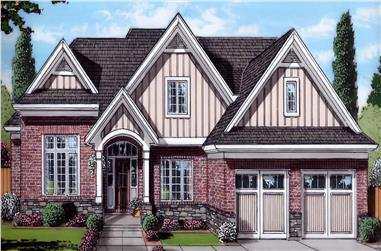 3-Bedroom, 1906 Sq Ft Farmhouse Home Plan - 169-1184 - Main Exterior