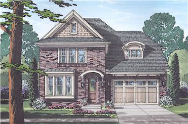4-Bedroom, 2202 Sq Ft Traditional Home - Plan #169-1185 - Main Exterior