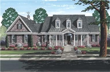 3-Bedroom, 2041 Sq Ft Country House - Plan #169-1186 - Front Exterior