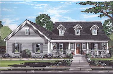 3-Bedroom, 1790 Sq Ft Cape Cod House - Plan #169-1188 - Front Exterior