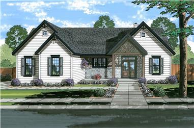 3–4-Bedroom, 2059–3160 Sq Ft Farmhouse Home - Plan #169-1190 - Main Exterior