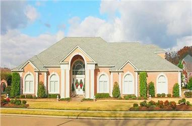 4-Bedroom, 4835 Sq Ft Southern Home Plan - 170-1003 - Main Exterior