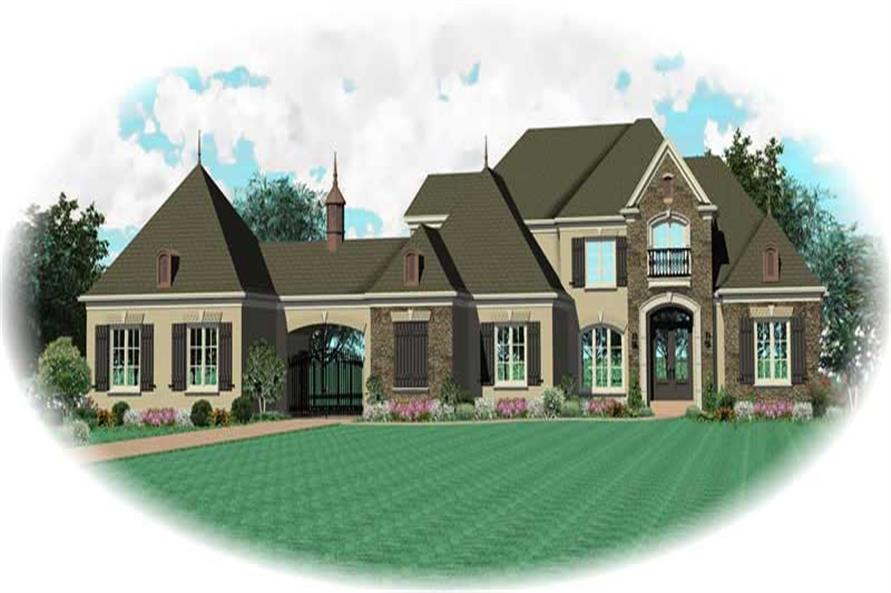 Main image for house plan # 20459