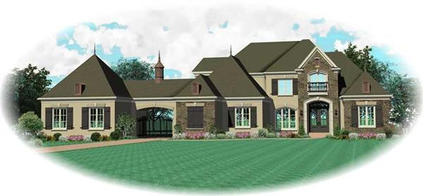 Main image for house plan # 20460