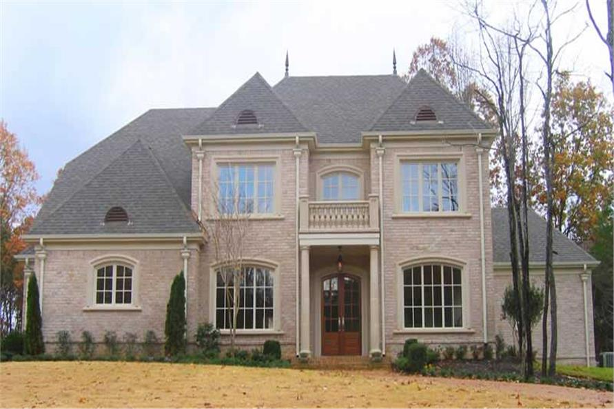 4-Bedroom, 4693 Sq Ft Southern Home Plan - 170-1022 - Main Exterior