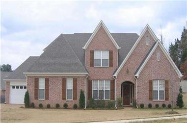 4-Bedroom, 3073 Sq Ft Southern Home Plan - 170-1036 - Main Exterior