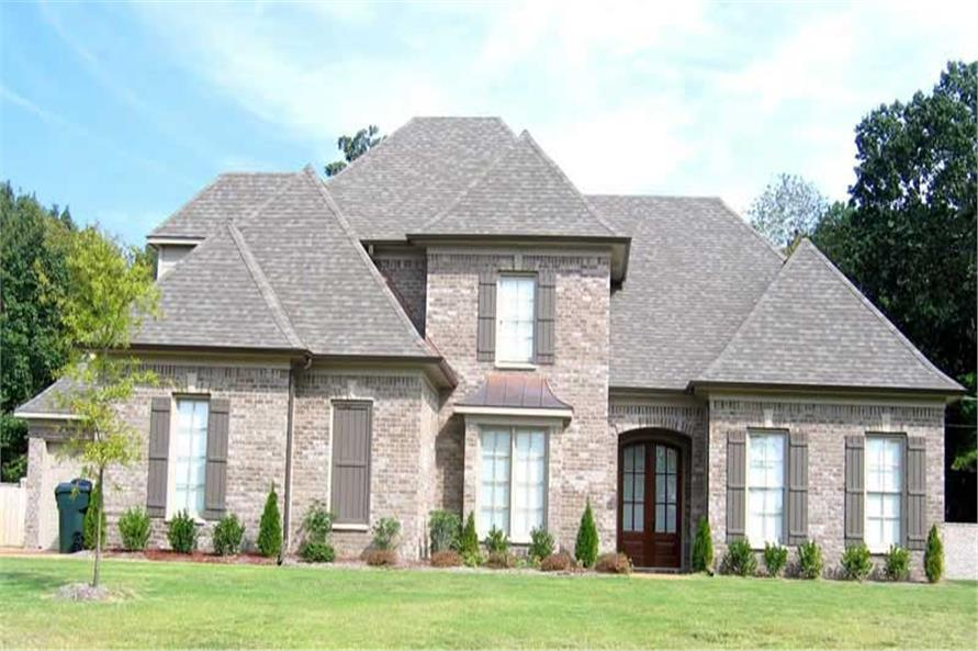 4-Bedroom, 3823 Sq Ft Southern Home Plan - 170-1053 - Main Exterior