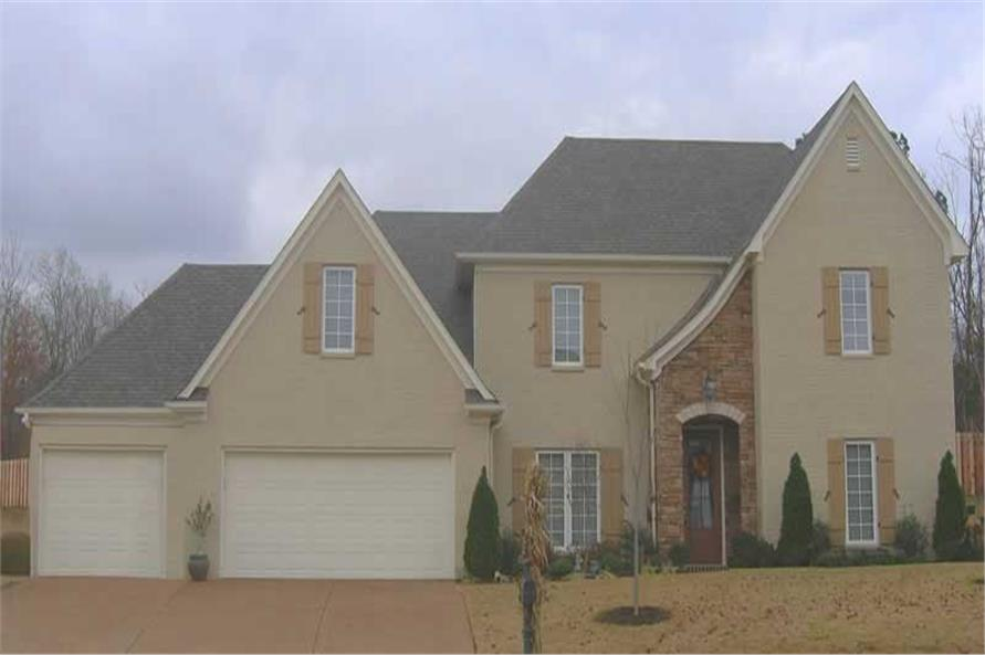 4-Bedroom, 2986 Sq Ft Southern Home Plan - 170-1059 - Main Exterior