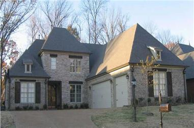 5-Bedroom, 4262 Sq Ft Southern House Plan - 170-1075 - Front Exterior