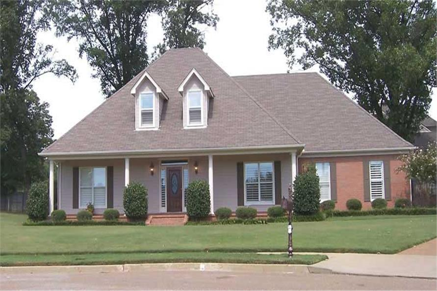 3-Bedroom, 2161 Sq Ft Southern Home Plan - 170-1078 - Main Exterior