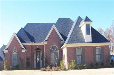 3-Bedroom, 2255 Sq Ft Southern House Plan - 170-1082 - Front Exterior
