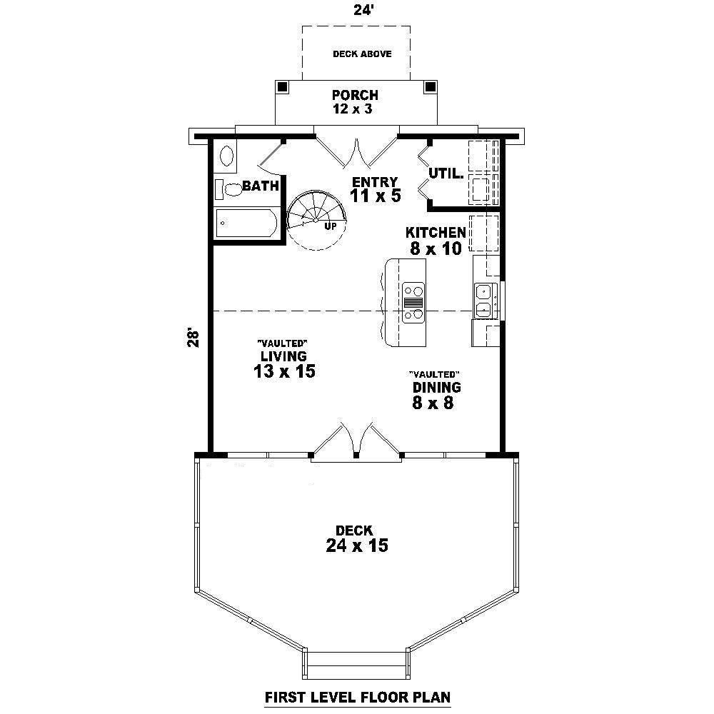 A frame house plan 0 bedrms 1 baths 734 sq ft 170 1100 for How much is 1100 square feet