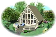View house Plan#170-1100