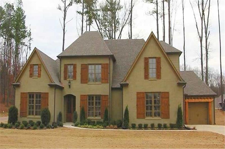 4-Bedroom, 3515 Sq Ft Southern Home Plan - 170-1107 - Main Exterior