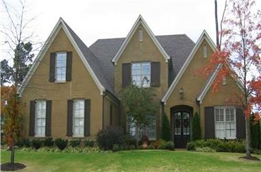 3-Bedroom, 3405 Sq Ft Southern House Plan - 170-1108 - Front Exterior