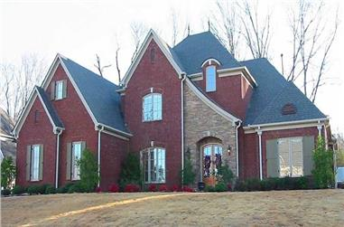 3-Bedroom, 3990 Sq Ft Southern Home Plan - 170-1114 - Main Exterior