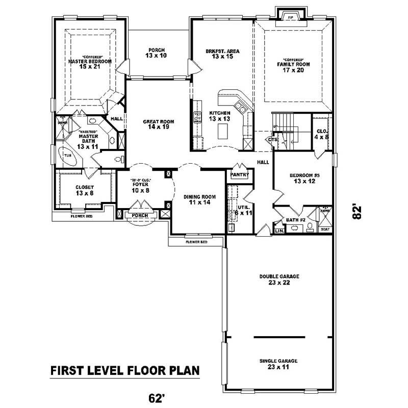 Southern house plans home design su 2600 1067 1838 ft for 2600 sq ft house cost