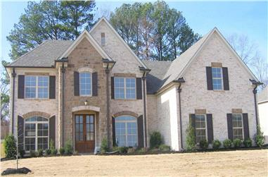 4-Bedroom, 3700 Sq Ft Country Home Plan - 170-1184 - Main Exterior