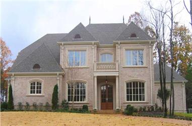 4-Bedroom, 4298 Sq Ft Southern Home Plan - 170-1229 - Main Exterior