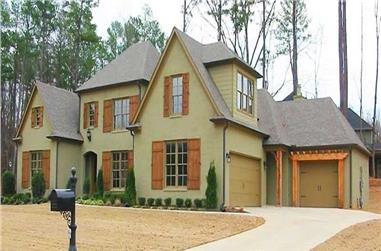 4-Bedroom, 3500 Sq Ft Southern Home Plan - 170-1236 - Main Exterior