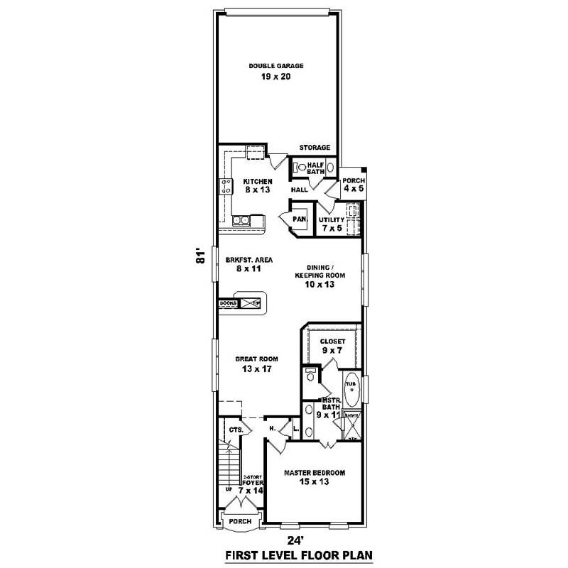 House plans home design su 1328 528 734 f 18722 for 528 plan